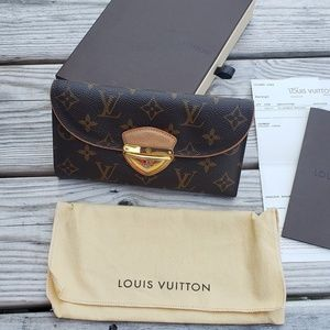 Louis Vuitton Discontinued Eugenie Monogram Wallet